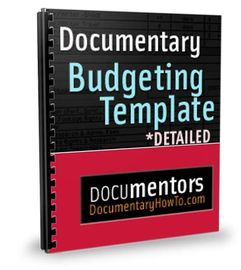 budget cover page template documentary budgeting documentary budget template budget
