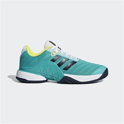 adidas mens barricade  tennis shoes  res aqua