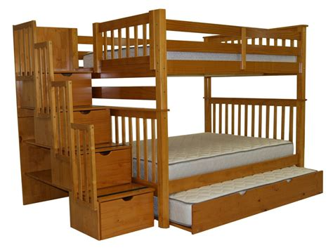 bed with stairs full over full bunk bed with stairs interior twin over