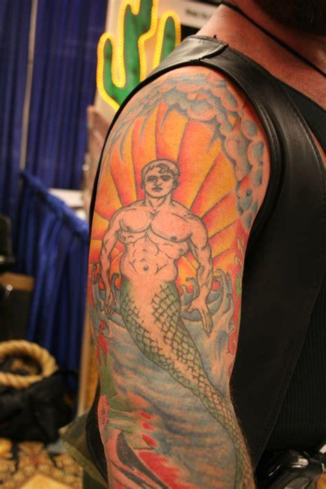 merman tattoo merman by dpt56 on deviantart
