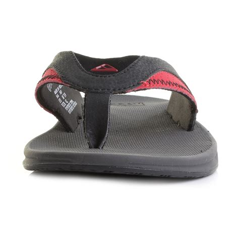 Sandal Pria Rf 02 mens reef fanning grey black toe post sandals flip flops shu size ebay