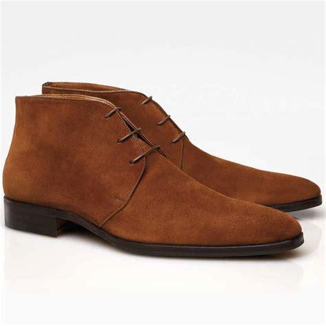 boots shoes stemar firenze suede chukka boots rust