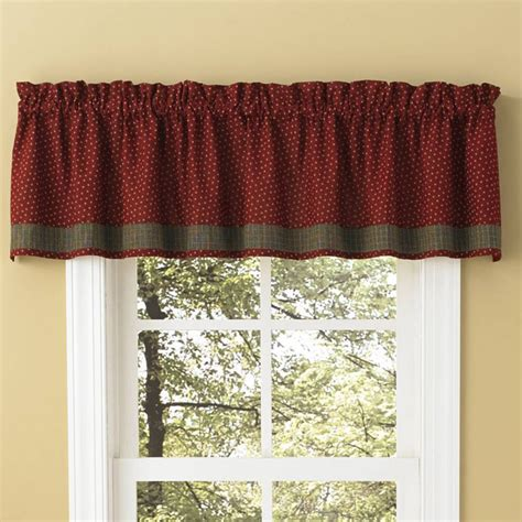 wine curtains valances hearth home lined border valance wine view all valances