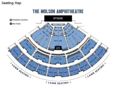 Molson Amphitheatre Floor Plan by Ticketmaster Floor Plan Best Free Home Design Idea