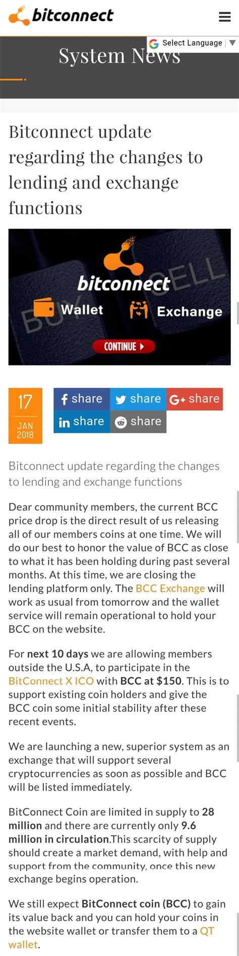 bitconnect converter bitconnect might make a surprising return rather soon
