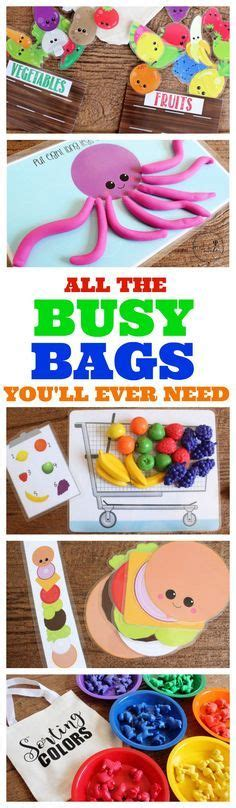 printable toddler busy bags the best busy bags ever tons of free printable