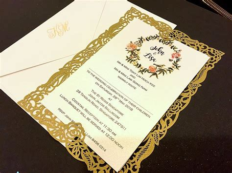 american wedding invitation cards how to design wedding invitation card in singapore