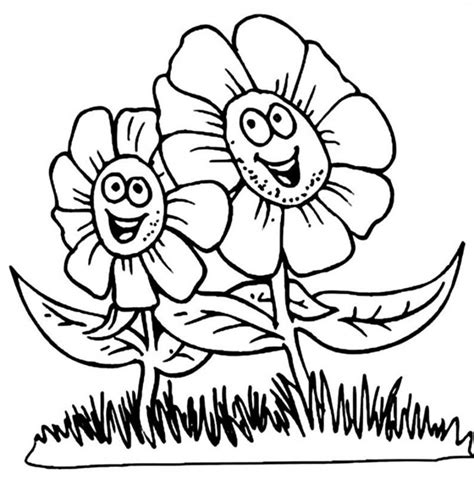 Coloring Pages For free printable flower coloring pages for best