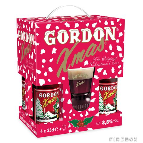 gordon christmas beer gift pack buy at firebox com