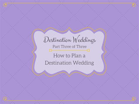 how to plan a destination wedding on small budget tree limin destination weddings part 3 quot how to plan a destination wedding quot