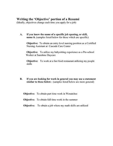 resume examples babysitting skills 2 babysitting sample resume