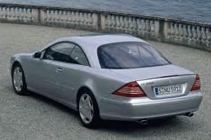 2002 Mercedes Cl 500 Mercedes Cl 500 W215 2002 Parts Specs