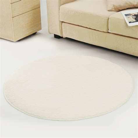 Dining Table Carpet Mat Anti Skid Fluffy Shaggy Area Rug Dining Room Home