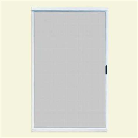 screen doors sliding 48 x 80 unique home designs 48 in x 80 in ultimate white metal