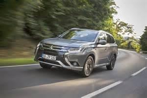 Mitsubishi Outlander Test Test Mitsubishi Outlander In Hybrid Mein Auto
