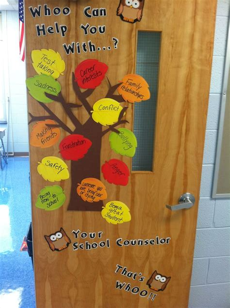 decoration school school counselor office door decoration office ideas