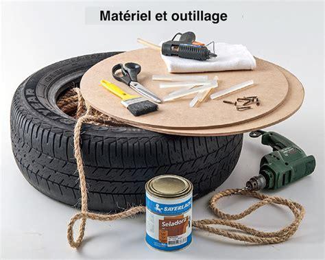 Pouf Avec Pneu Et Corde by Fabriquer Un Pouf En Pneu Et Corde Tutoriel En Photos Par