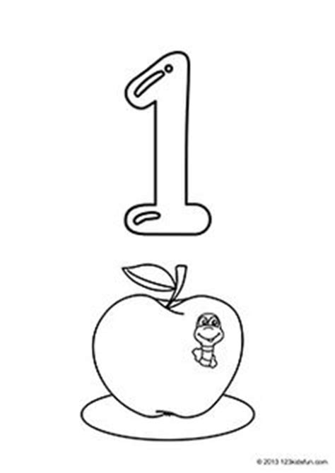 Number 1 Coloring Pages For Preschoolers by 13 Best Images Of 1 1 Correspondence Math Worksheets