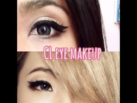 tutorial eyeliner cl 2ne1 cl 2ne1 eye makeup tutorial paw youtube