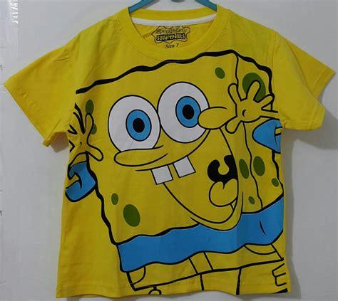 Kaos Spongebob kaos spongebob dadah 1 6 spongebob grosir eceran baju