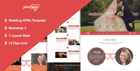 bootstrap templates for wedding 15 best wedding website templates html designssave com