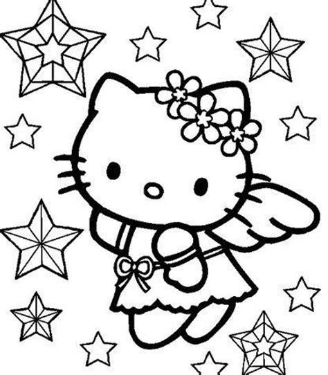 imagenes de kitty para imprimir y colorear dibujos hello kitty navidad para colorear