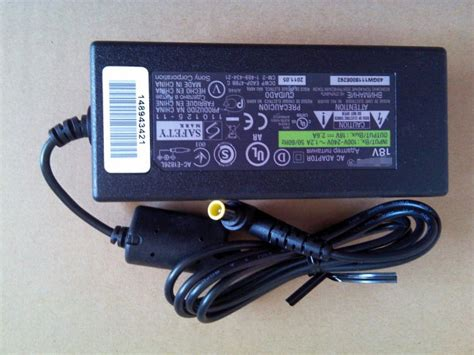 Charger Sony 2a 1 genuine sony 18v 2 6a sa 32se1 ac e1826l power supply