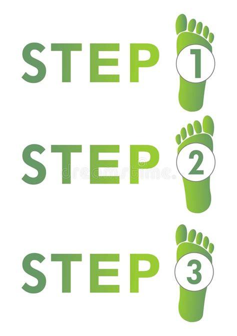 One Step Amily 3 paso a paso 1 2 3 ilustraci 243 n vector ilustraci 243 n de instrucci 243 n 36622115