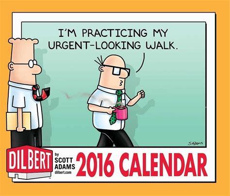 dilbert desk calendar 2017 dilbert day to day calendar 2016