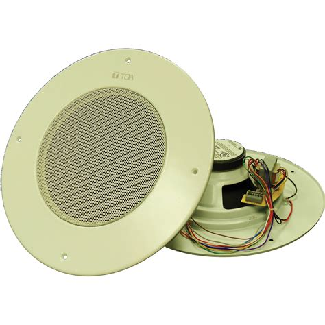 Ceiling Speaker Merk Toa toa electronics pc 580ru 8 quot in ceiling speaker pc 580ru am