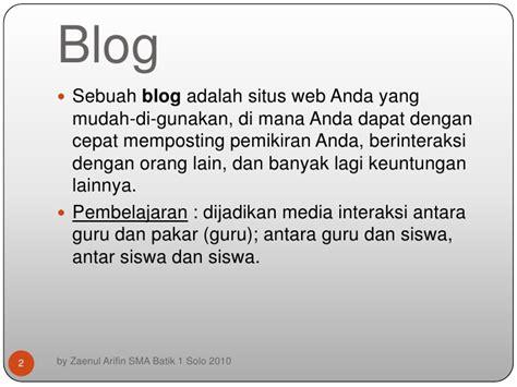 Keuntungan Membuat Blog   belajar membuat blog