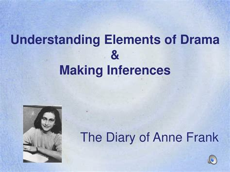 Ppt Understanding Elements Of Drama Making Inferences Drama Powerpoint