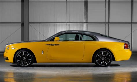 golden rolls royce golden yellow rolls royce wraith is the latest bespoke