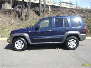 2006 Jeep Liberty Sport 2006 Midnight Blue Pearl Jeep Liberty Sport 4x4 27235389
