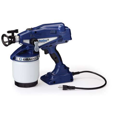 paint sprayer shop graco truecoat ii airless handheld paint sprayer at