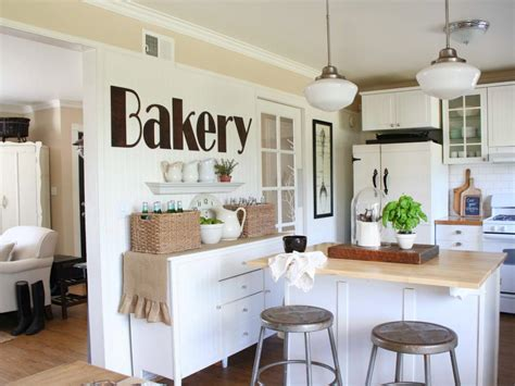 kitchen wall decorating ideas pinterest shabby chic style guide hgtv