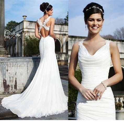 Size 8 Wedding Dresses by Mermaid Wedding Dress Ivory White Bridal Gown Custom