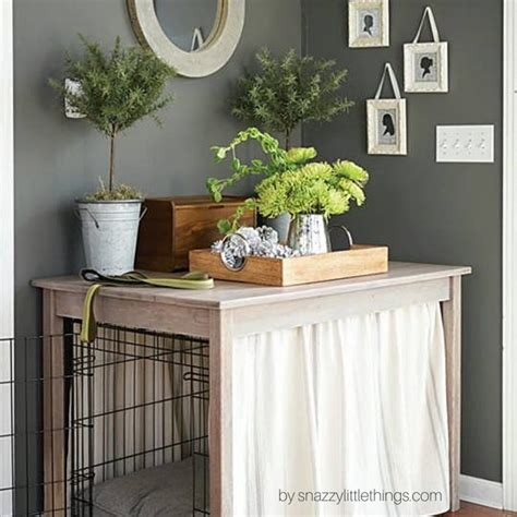 sofa table dog crate dog crate sofa table functionalities net