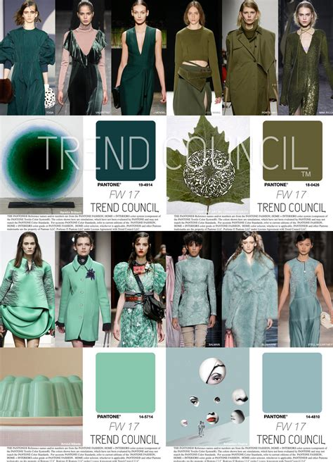 trend colors trend council key fashion color fw17 trends 684720