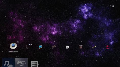 ps4 themes galaxy 1 cosmic dynamic galaxy theme bl on ps4 official