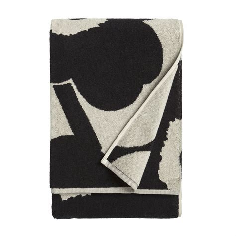 black bathroom towels marimekko unikko sand black bath towel marimekko