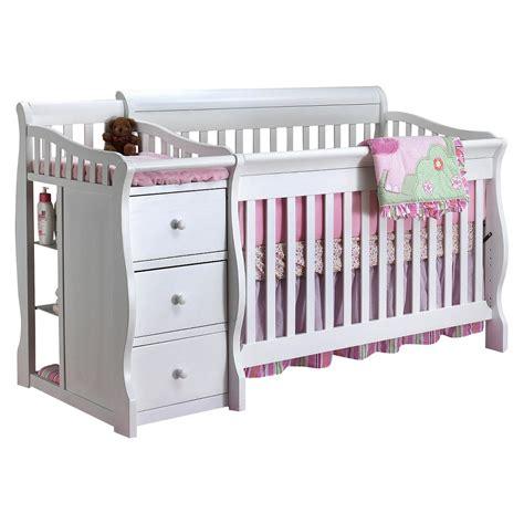 sorelle tuscany crib and changer white