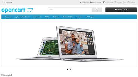 template toko online opencart membuat toko online dengan opencart ilmu komputer