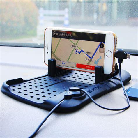Promo Holder Mobil Vivan Car Holder Dashboard Anti Selip Chd01 Promo car dashboard phone holder stand usb mount charger anti skid support magnetic silicone non slip