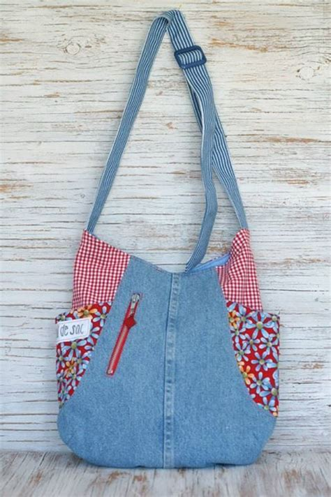jeans tote bag pattern 422 best recycled jeans bags images on pinterest denim