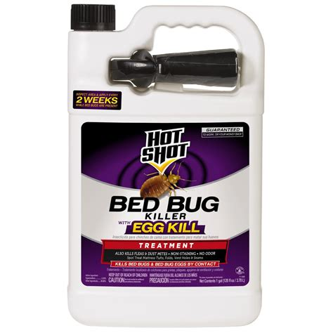 hot shot bed bug spray hot shot bed bug and flea killer 1 gal ready to use