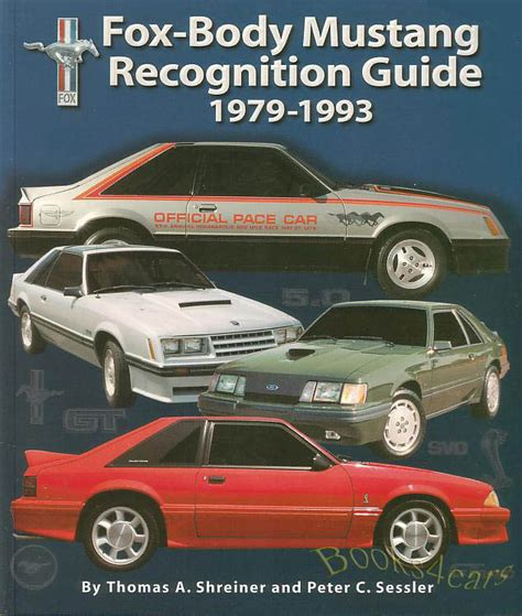 books on how cars work 1993 ford club wagon head up display mustang book recognition guide fox body ford svt gt 5 0 lx cobra r svo 1979 1993 ebay
