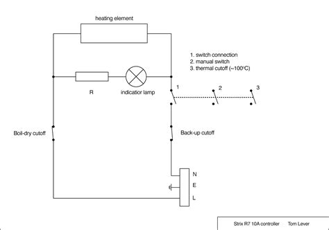 circuit diagram kettle wiring diagram with description