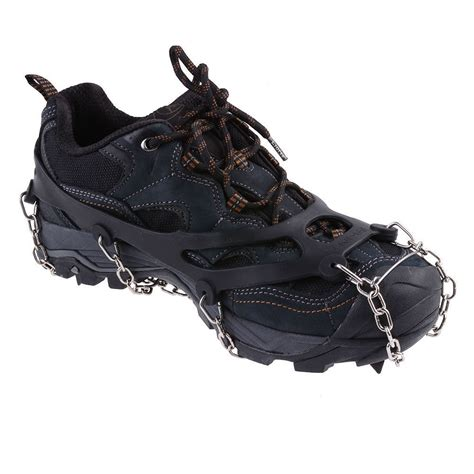 boat shoe cleats ice snow shoes spike grip boots chain crons grippers