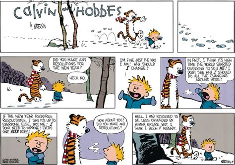 calvin and hobbes new years resolution finland s national new year s resolutions 2016 david j cord